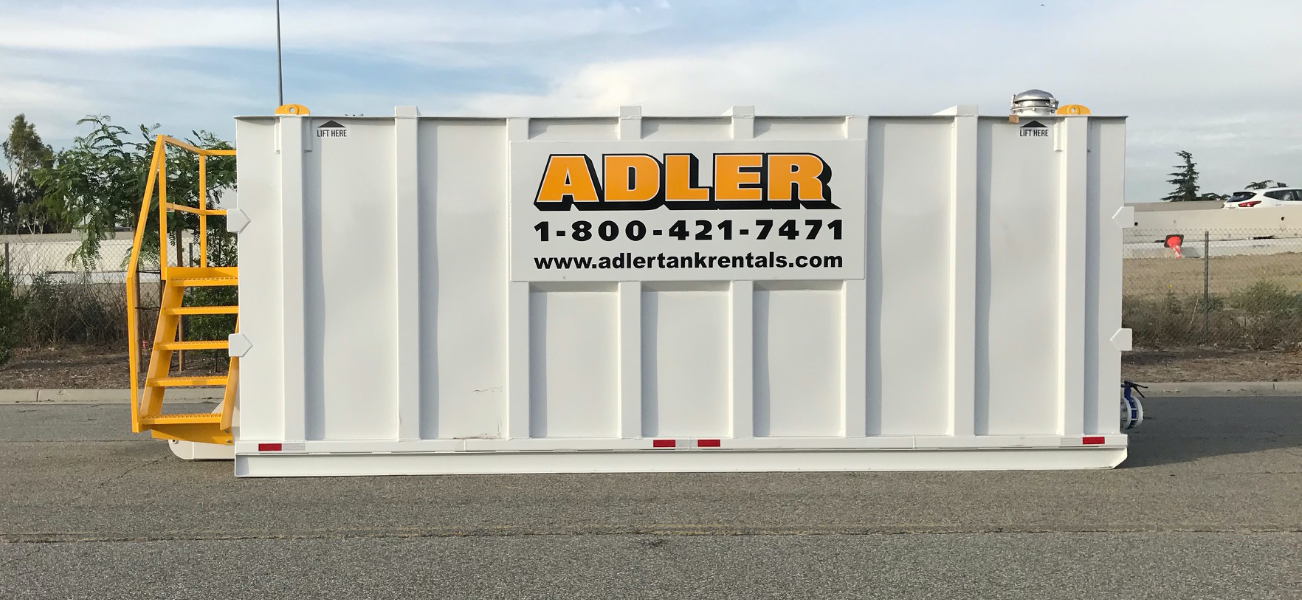 adler tank rentals double wall tank