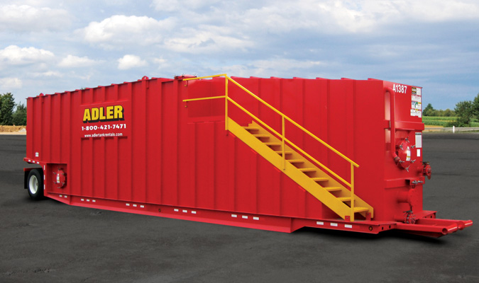 21000 gallon container