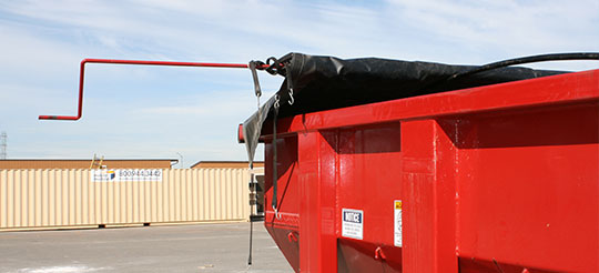 25 Yard Roll Off Containers And Boxes With Canvas Tarps